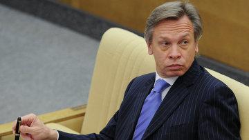 Председатель комитета ГД по международным делам Алексей Пушков. Архивное фото