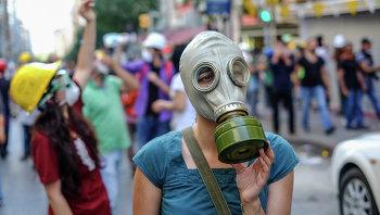 Демонстрации в турецкой Анкаре