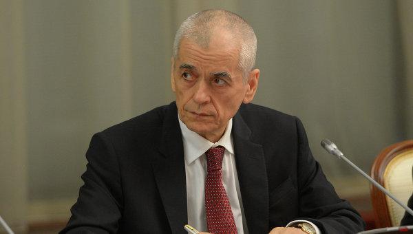 Главный государственный санитарный врач России Геннадий Онищенко. Архивное фото
