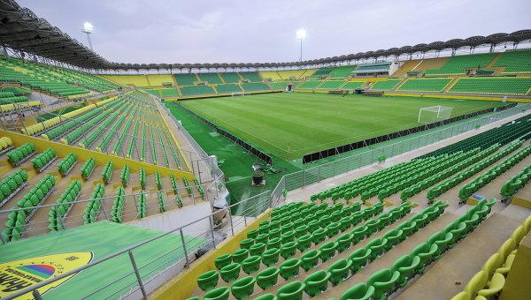Стадион Анжи-Арена в Каспийске. Архивное фото