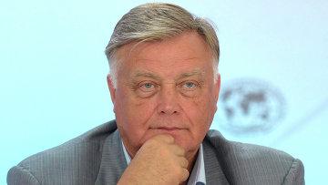 Глава ОАО РЖД Владимир Якунин. Архив