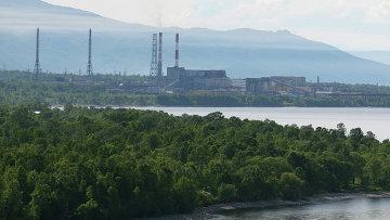 Байкальский целлюлозно-бумажный комбинат. Архивное фото