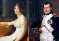 """Франсуа Жерар """"Жозефина"""", 1801 / Жак Луи Давид """"Император Наполеон в своем кабинете в Тюильри"""", 1812"""