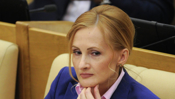 Председатель комитета ГД по безопасности и противодействию коррупции Ирина Ярова