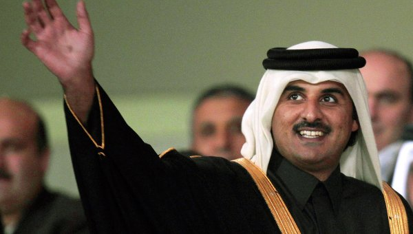 Эмир Катара шейх Тамим бен Хамад Аль Тани