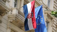 Ситуация в Хорватии. Архивное фото