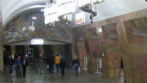 Станция метро Марксистская. Архивное фото