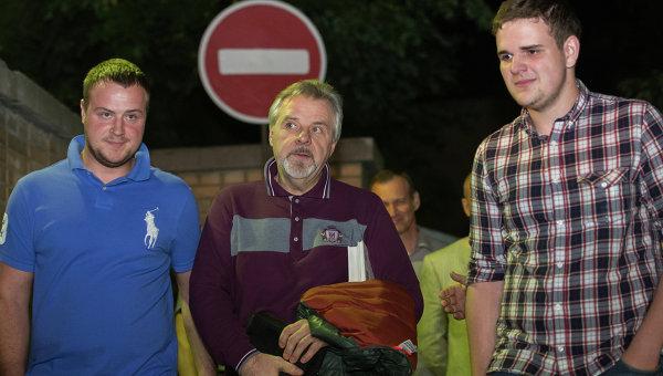 Александр Ингатенко освобожден из СИЗО Лефортово