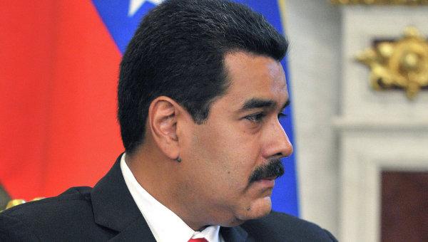 Президент Боливарианской Республики Венесуэла Николас Мадуро Морос. Архивное фото