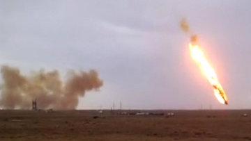 Ракета-носитель Протон-М упала и взорвалась после старта. Архивное фото