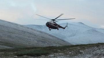 Поиски вертолёта Ми-8. Архивное фото
