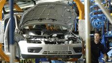 Сборка автомобилей марки Ford. Архив