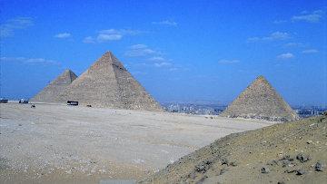 Пирамиды Хеопса, Хефрена и Микерина. Архив