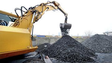 Каменный уголь. Архивное фото