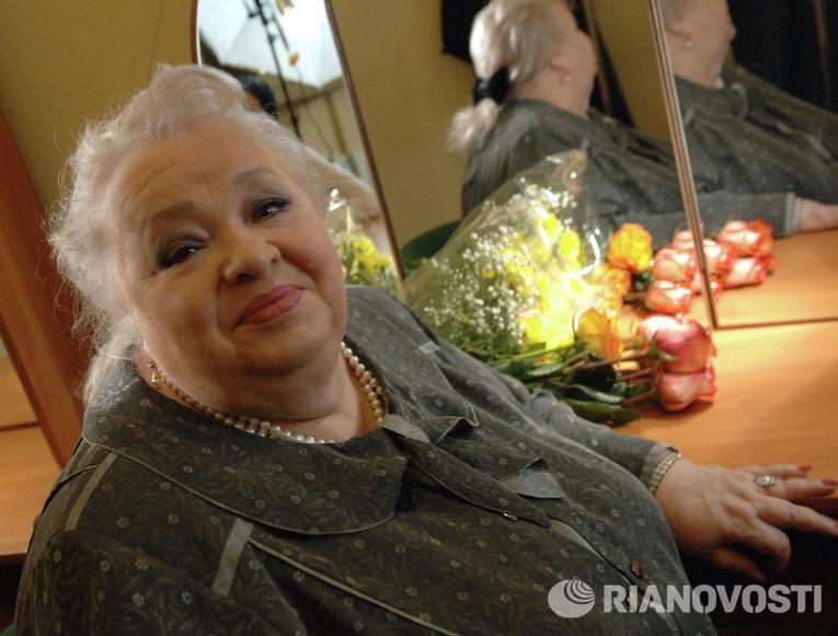 Заслуженная артистка России Наталья Крачковская