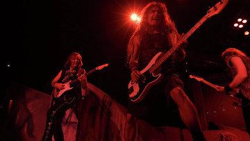 Концерт Iron Maiden. Архивное фото