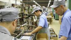 Сотрудники японской компании Nihon Rikagaku Industry Co., Ltd