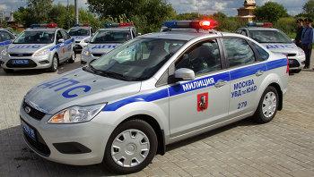 Служебные автомобили сотрудников ДПС. Архивное фото