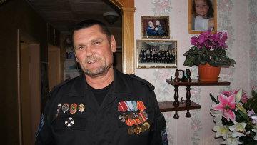 Боец дальневосточного отряда спецназа группы Альфа Иван Журавлев