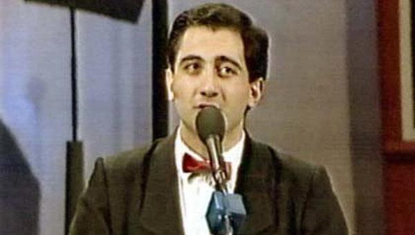 Один из лидеров команды КВН Ереванского медицинского института Марк Сагателян