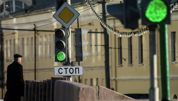 На Болотной набережной в Москве. Архивное фото