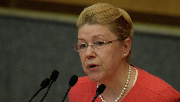 Елена Мизулина. Архивное фото