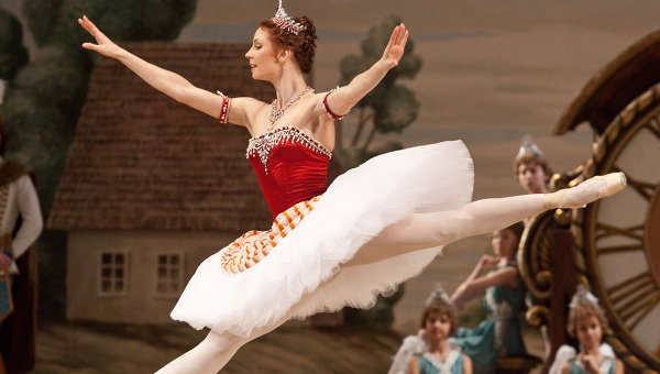Солистка балета Мария Александрова. Архив