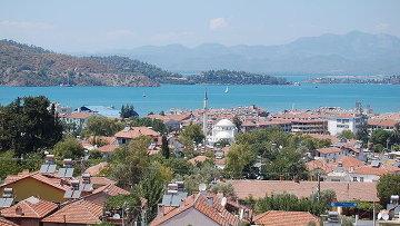 Город-курорт Фетхие в Турции. Архивное фото