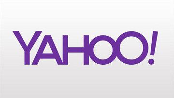 Логотип Yahoo. Архивное фото