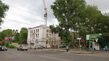 Первая городская больница в Томске. Архивное фото