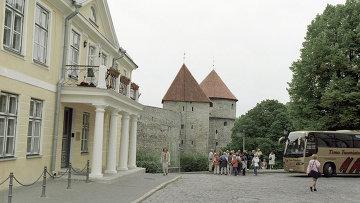 Здание посольства РФ в Эстонии, архивное фото