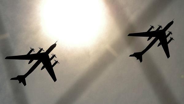 Самолеты ТУ-95. Архивное фото