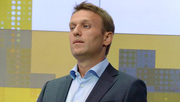 Кандидат в мэры Москвы от РПР-ПАРНАС оппозиционер Алексей Навальный. Архив