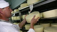 Производство сыра. Архив