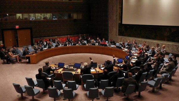 Заседание постоянных членов СБ ООН по Сирии