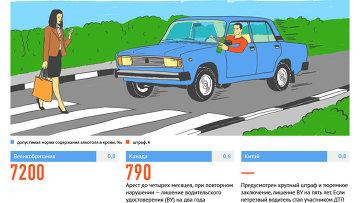 Алкоголь за рулем: нормы и санкции