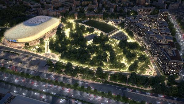 УК Динамо запустила первую имиджевую кампанию ВТБ Арена парк