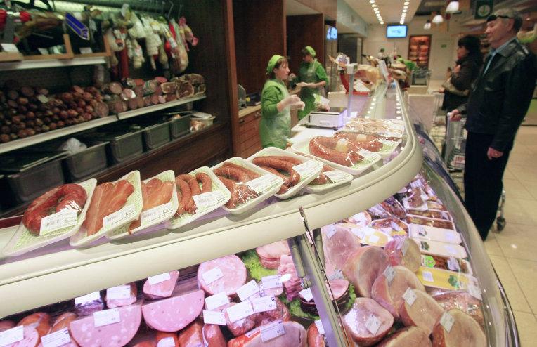 Продовольственный магазин. Архивное фото