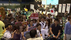 Криками Банзай! встретили японцы новость о выборе Токио столицей ОИ-2020
