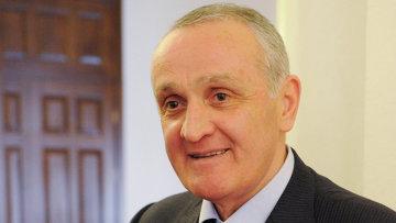 Президент Республики Абхазия Александр Анкваб. Архивное фото