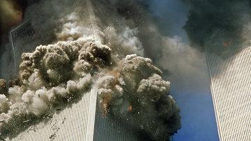 Во время теракта 11 сентября в Нью-Йорке