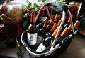 Молдавские вина на витринах магазинов