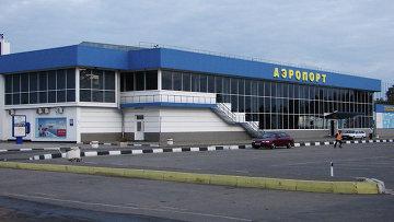 Международный аэропорт Симферополь. Архивное фото