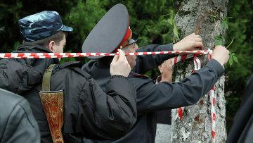 Сотрудники правоохранительных органов в Нальчике. Архивное фото