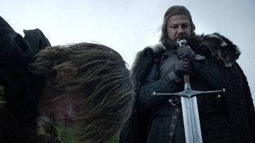 Шон Бин в роли Эддарда Старка в сериале Игра престолов