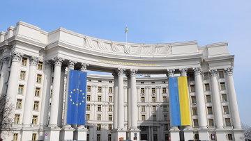 Здание Министерства иностранных дел Украины в Киеве, Архивное фото