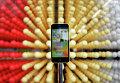 Смартфон iPhone 5c на прилавке в Токио