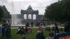 Ежегодный День без автомобиля в Брюсселе, архивное фото