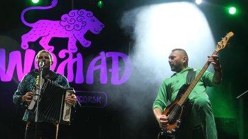 Группа Вопли Видоплясова на музыкальном фестивале WOMAD
