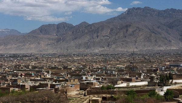 Вид на город Кветта, Пакистан. Архивное фото